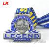 Promotion Gift Custom Spinning Manufacture 5K 10K 2D Design Running Metal Medal with Ribbon