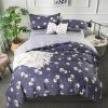 Indian Malaysia Singapore Hot Selling Double Bedding Set Bedsheets