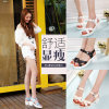 New Summer Design PU Leather Fish Mouth Sweet Lady Sandal for Party and Daily Wear