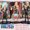 Zoro Chopper Sanji Figure Wholesale Fashion Anime Cos Hot and New Style One Piece Toy Figure