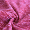 Cation Printing Effect Micro Fleece, Jacket Fabric (winered)