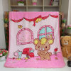 100% Polyester Wholesale Soft Print Flannel Baby Blanket