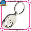 Customized Metal Key Chain with Trolley Coin Keyring