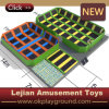 En1176 Approved Beds Trampoline with Soft Foam Pool (B1502-6)