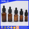 E Liquid Glass Packing Amber Bottle with Dropper Pipette