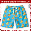 Upf50+ Plus Size Boys Spandex Polyester Swim Shorts Suppliers (ELTBSJ-225)
