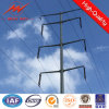 Powder Coating 12m Steel Utility Poles Fasctory