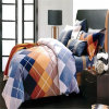 100% Luxury Cotton 400tc Sateen Bed Sheet, Reactive Printed