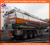 42000 Liters Heavy Duty 3 Axle Aluminum Fuel Tank Trailer