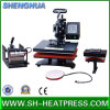 CE Approved 5 in 1 T Shirt Heat Press Machine