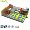 New Low Trampoline Price with Popular Indoor Climbing Walking Wall Used in Trampoline Court