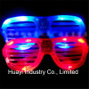 Custom Printed LED Light up Slotted Glasses