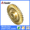 Brass Pump Impeller by Precision Sand Casting