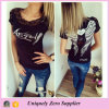 Fashion Girl's Angel Wings Back Hollow Lace Blouse