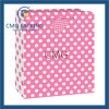 Medium Hot Pink Polka DOT Gift Bag