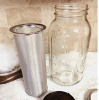 Food Grade Stainless Steel Fine Mesh Coffee Filter Cylinder
