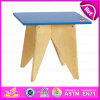 2015 Hot Sell Wooden Kids Table Sets, Modern Cheap Kids Study Table Chair, High Quality Wooden Toy Kids Table and Chairs W08g024