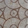 Round Pattern Marble Stone Mosaic Floor Tile (HSM136)