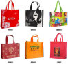 Colorful Printed Non-Woven Gift Shopping Bags for Garments (FLN-9063)