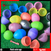 Solid Colorful Plastic Easter Eggs Capsules for Easter Gifts & Crafts