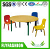 Hot Sale Nursery Furniture Kids Round Study Table Children Desk (SF-14C)
