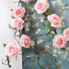 Real Looking Silk Artificial Rose Flower Vine