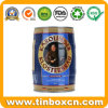 5L Metal Beer Keg for Food Tin Container