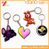 3D Cartoon Design PVC Keychain for Promotional Gift