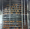 Spiral Cooler for Bread Toast and Hamburger Food Bakery Equipment
