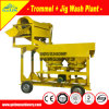 Small Scale Alluvial Diamond Gold Washing Plant Jig Machine for Sale