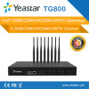 Yeastar 8 GSM Ports SIM Card SMS VoIP GSM Gateway (NeoGate TG800)