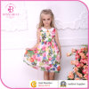 Wholesale Patterned Chiffon Girls Frocks (5008A#)