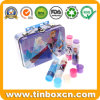 Kids Fruit Lip Balm Tin Boxes with Handle for Gift