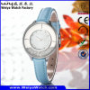 Business Custom Name Watch Leather Watch Alloy Watch (Wy-108A)