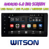 "Witson 7"" Big Screen Android 6.0 Car DVD for Toyota Universal with Short DVD Body Design"