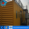 Mobile Steel Prefab Container with Top Coffee Area for Relax