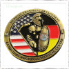 Factory Custom Personalized 3D Metal Carnival Medical Aim Corporate Awards Challenge Gold Coins for Souvenir Promotion Gifts