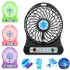 Universal Handheld Portable Rechargeable LED Light Mini USB Fan Air Cooler