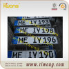 European Decorative Assorted Number Plates