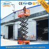 Ce Self Propelled Window Cleaning Scissor Lift with 13.8m