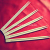 Bamboo Chopsticks in Bulk or Paper Sleeves