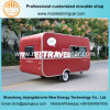 Comfortable and Beautiful Jiejing Made Caravan Mobile Food Truck