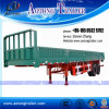 Hot Sale Side Wall Open Semi Trailer for Bulk Cargo Transport