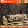 Home Decorative Wall Paper Black Design with Korea Style