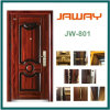 with High Quality Handles and Locks, Entrance Door, Steel Security Door.