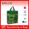 Eco Friendly PP Non Woven Green Shopping Bag