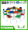 Customized Baby Kids Daycare Children Table and Chair, Kindergarten Preschool Furniture for Nursery Classroom Used