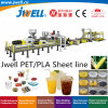 Jwell-PLA Pet Plastic Biodegradable Sheet Recycling Plastic Cup Making Extrusion Machine for Food Packing 3-D Printing Garbage Bag Agricultural Mulch Film