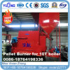 China Automatic Biomass Pellet Furnace for 10t Boiler (24 hours running per day)