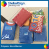 Outdoor Advertising Polyester Fence Mesh Signs Banner